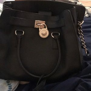 Big black authentic Michael kors purse